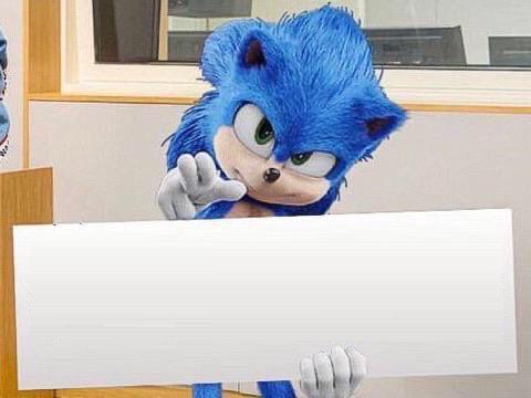 Meme Template Sonic S Sign By Ericsonic18 On Deviantart