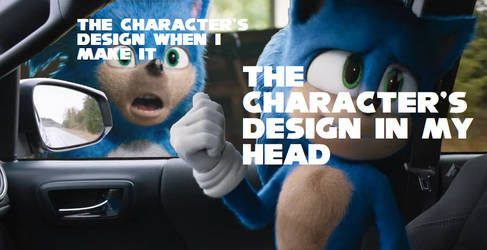 How designing characters feels like