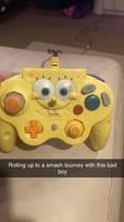 Spongebob gamecube controller.