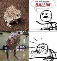 frog ballin
