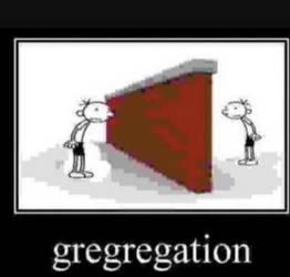 Gregregation
