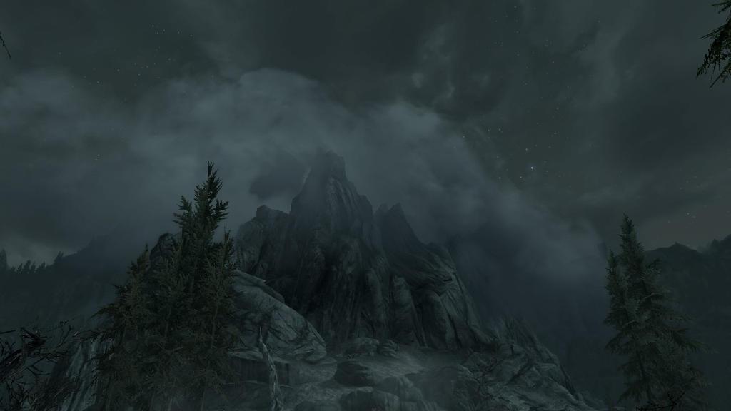 A Lone Peak by Blackcat569295