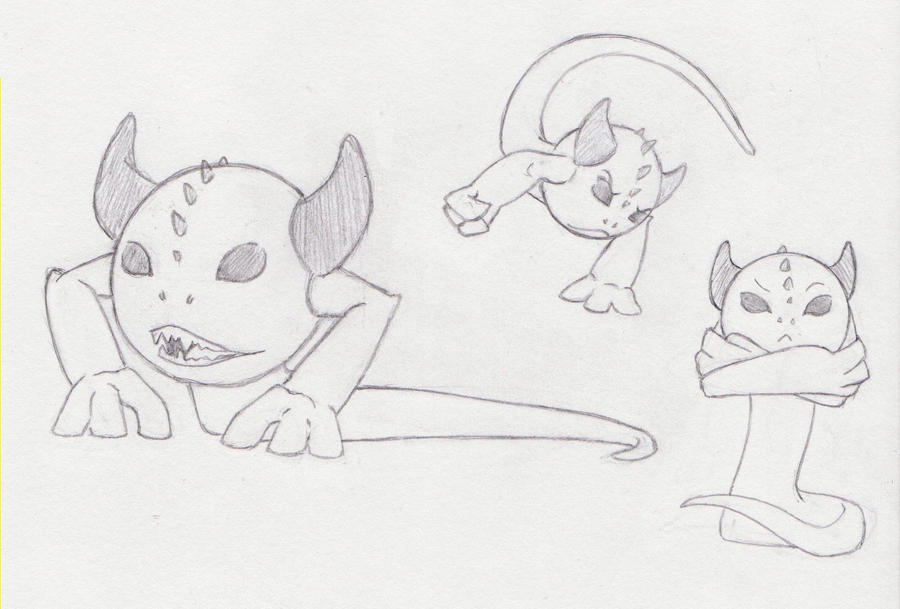 Monster Monday 1 by MaboroshiTira