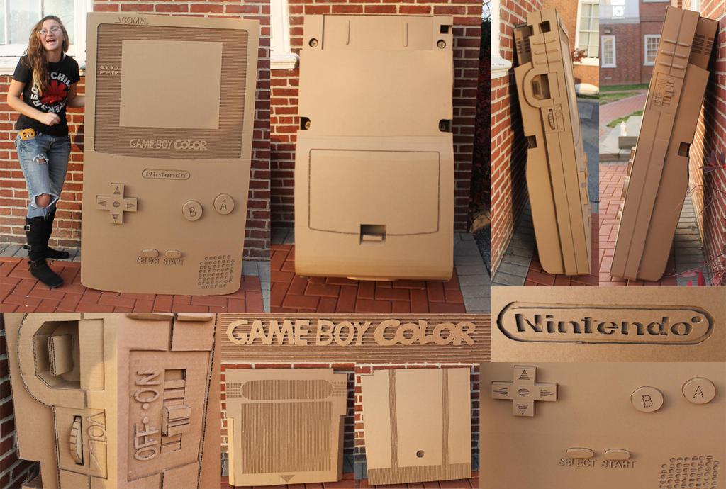 Cardboard views