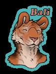 Bali Badge by MaboroshiTira