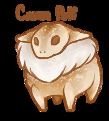 Dessert Monster: Cream Puff by MaboroshiTira