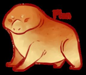 Dessert Monster: Flan by MaboroshiTira