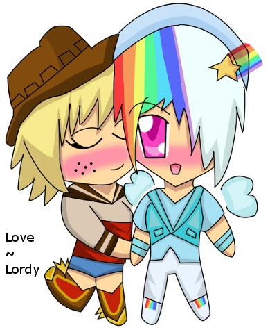 Their Love- AppleJack and Rainbow Dash by luckygirl88 on ...  Applejack