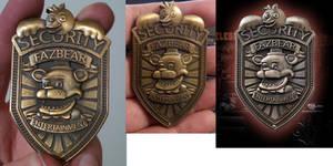 [MMD] FNAF Security Guard Badge Request
