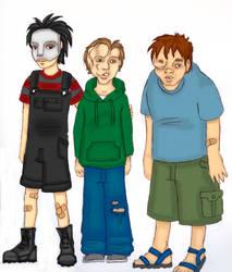 Little Deformed Guys by Crystal-Gargoyle