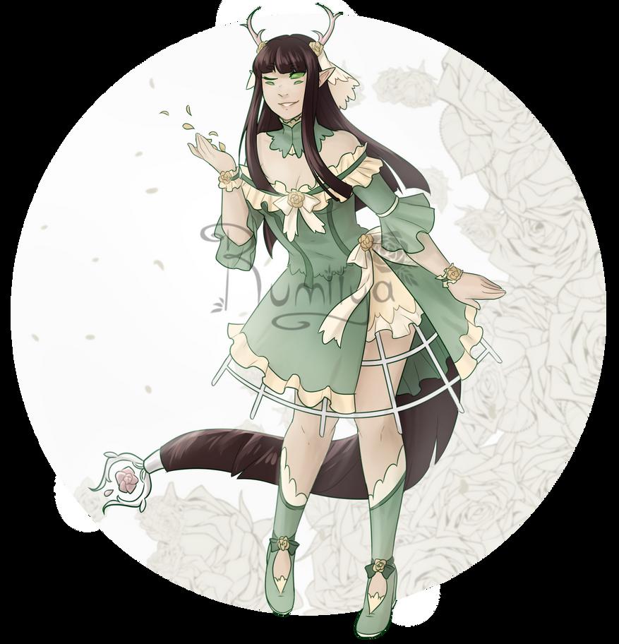 Maiden of the Garden sixeye [OPEN] +LOWERED by Rumiiya