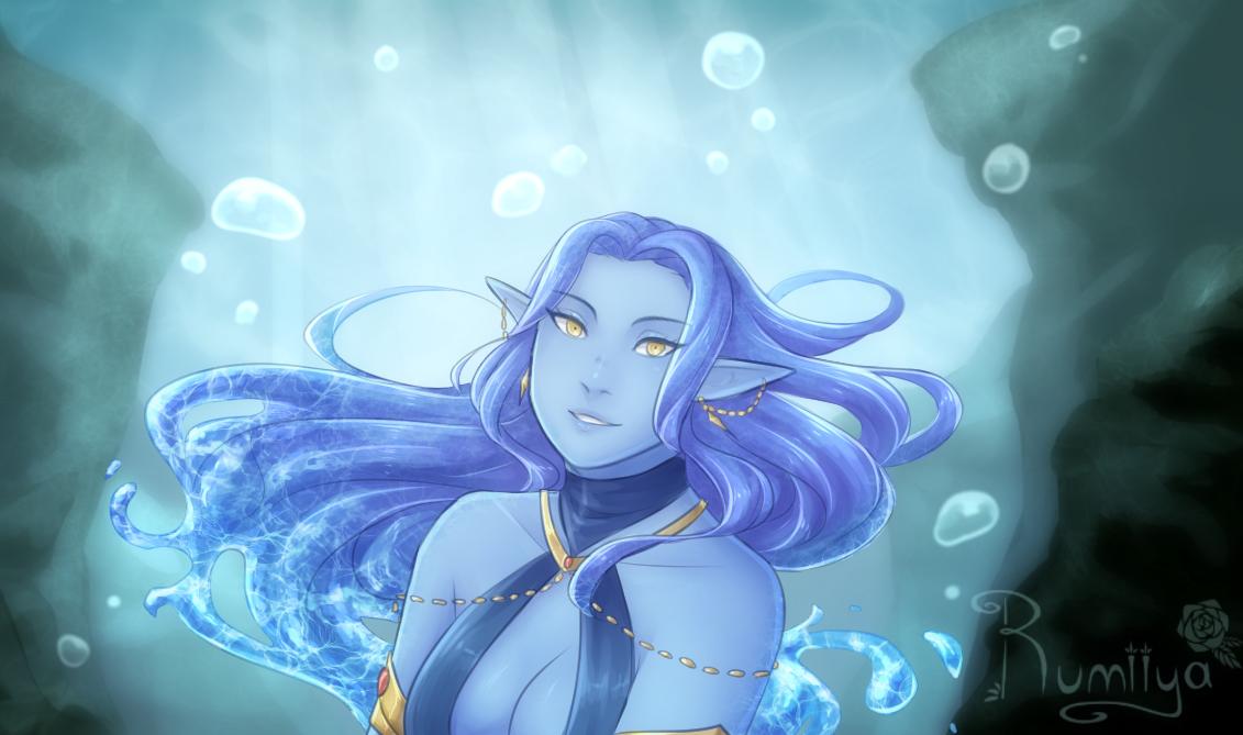 Lady of the Lake by Rumiiya