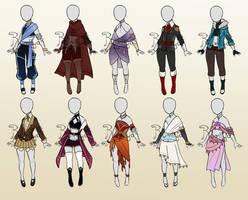 Big Outfit Batch [CLOSED] by Rumiiya