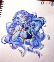 Water Daughter by Rumiiya