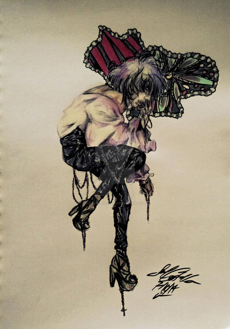 OC doodle by MAYUKUROCHAN