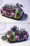 Slaanesh Armoured Rhino by vyler