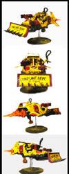 Angry Land Speeder by vyler
