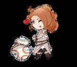 Yuuki: Rey cosplay and BB8