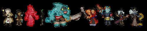 Enemies of Metamora by cyrad