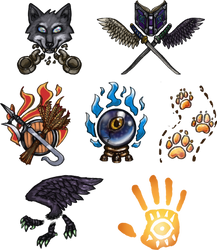 They Came From Metamora: Holy Symbols by cyrad