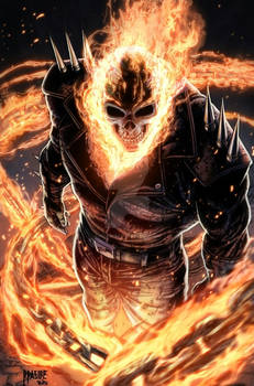 Ghost Rider (colored)