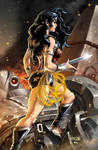 Wonderwoman (colored)