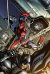 SPIDEY BATMAN VENOM