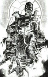 THRAWN and BOUNTY HUNTERS