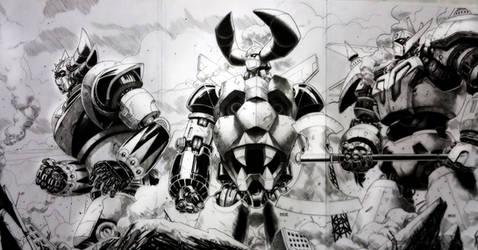 SUPERROBOTS by grandizer05