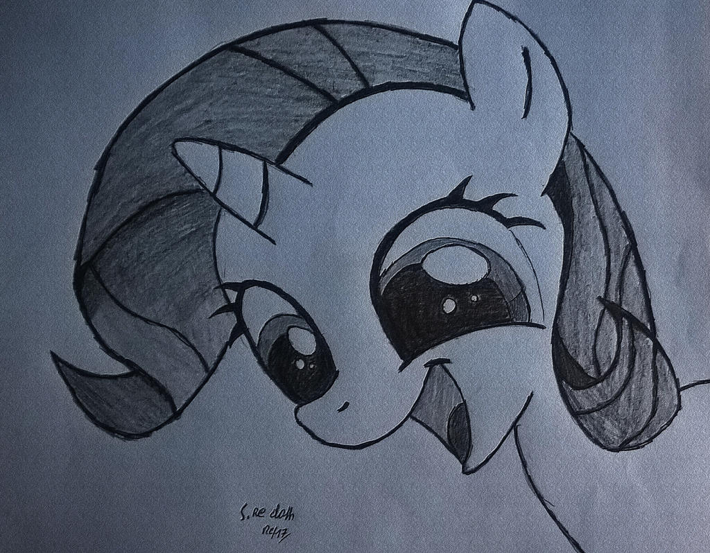 Rarity Filly by RestaDash