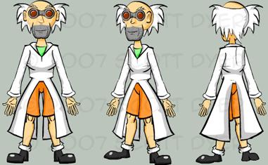 Evil Scientist by TuxedoPengu