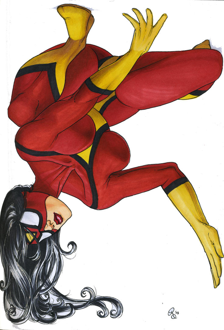 Jessica Drew, Spider-Woman by Dangerous-Beauty778