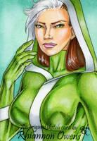 Rogue Sketch Card '09 by Dangerous-Beauty778