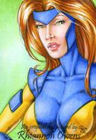 Jean Grey Sketch Card '09 by Dangerous-Beauty778