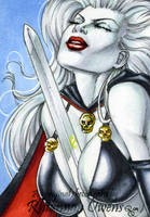 Lady Death HeroesCon '09 by Dangerous-Beauty778