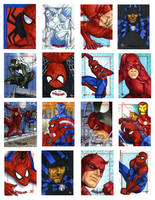 Spider-Man and other Heroes by Dangerous-Beauty778