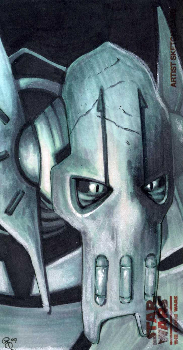 General Grievous return card 2 by Dangerous-Beauty778