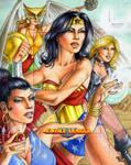 Bronze Age JLA Ladies