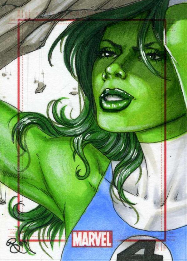 She Hulk, Marvel 70th by Dangerous-Beauty778