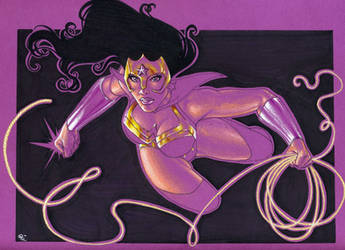 Wonder Woman, Star Sapphire by Dangerous-Beauty778