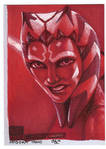 Ahsoka Tano ROTBH return card
