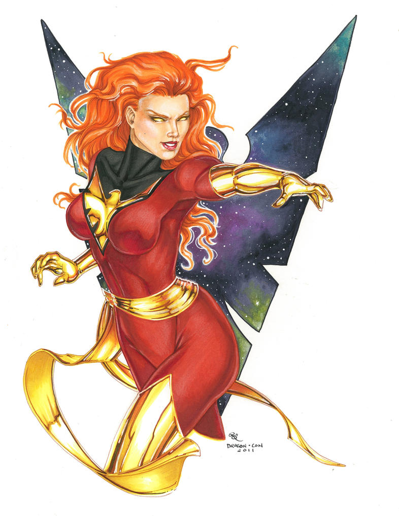 DCon Dark Phoenix by Dangerous-Beauty778