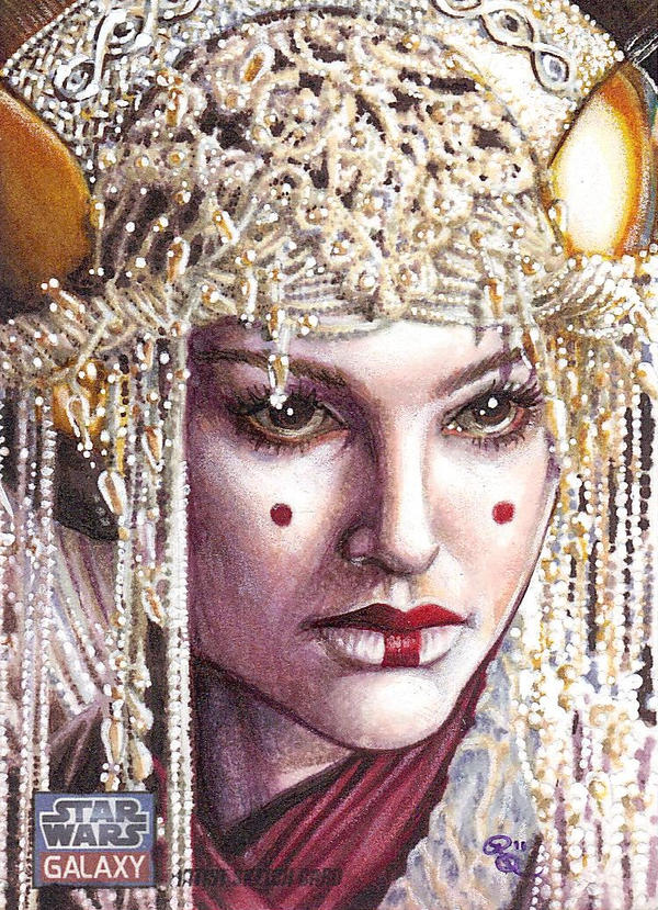 Queen Amidala on Coruscant by Dangerous-Beauty778
