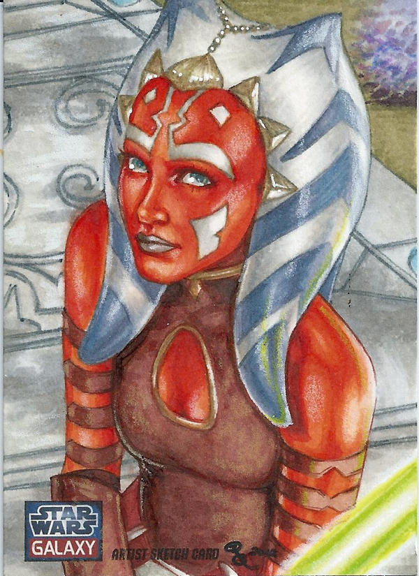 Ahsoka Tano by Dangerous-Beauty778