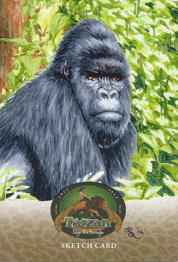 Tarzan 100th anniversary 4 gorilla by dangerous beauty778 on deviantart - Tarzan gorille ...