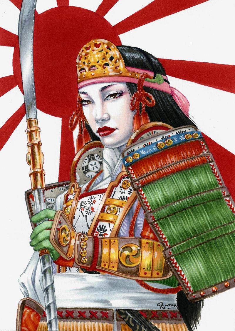 Onna-Bugeisha by Dangerous-Beauty778