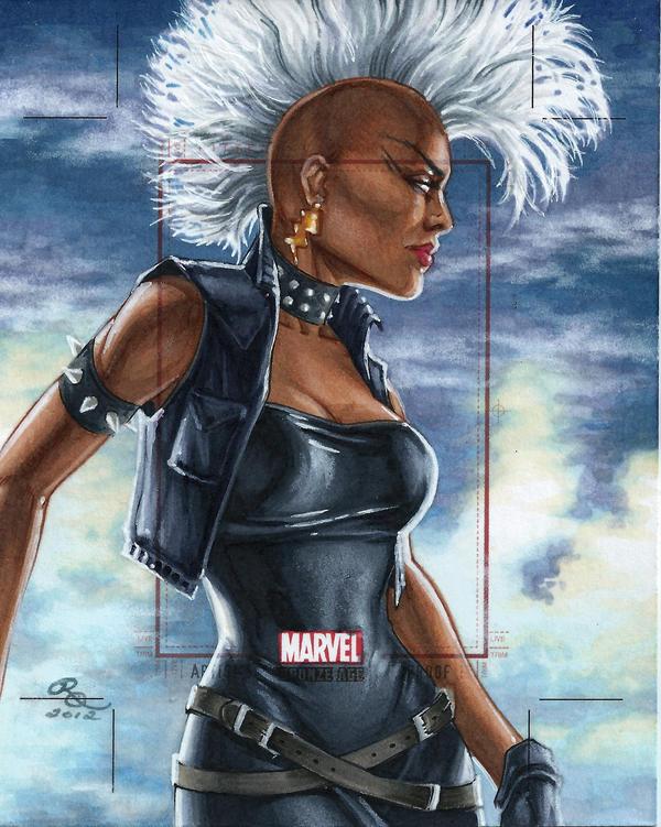Marvel Bronze Age Mohawk Storm AP By Dangerous Beauty778