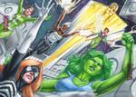 Women of Marvel, Secret Wars