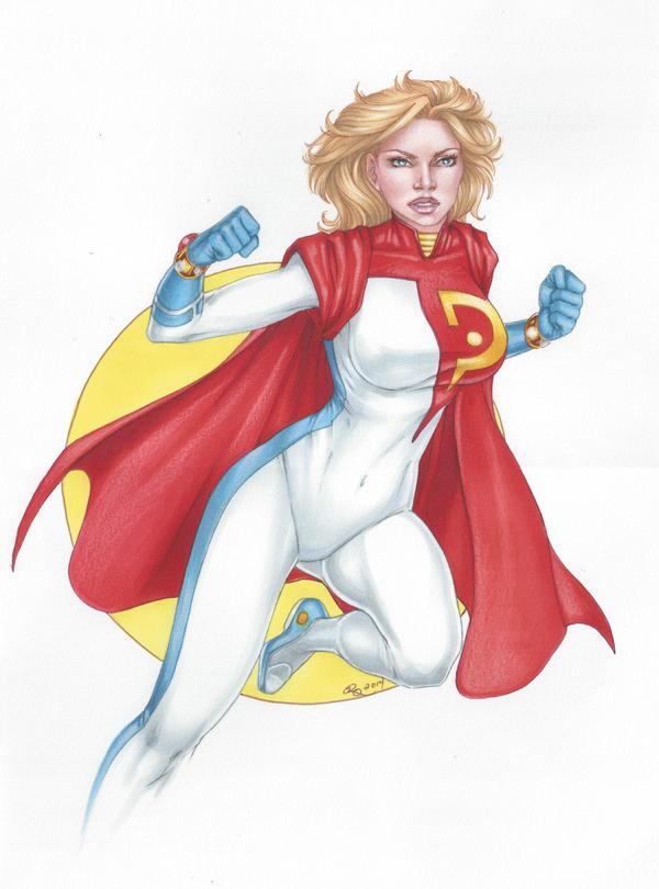 New 52 Power Girl by Dangerous-Beauty778 on DeviantArt