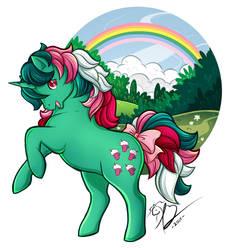 My Little Pony Fizzy (Redraw!) by Rapidashtrainer